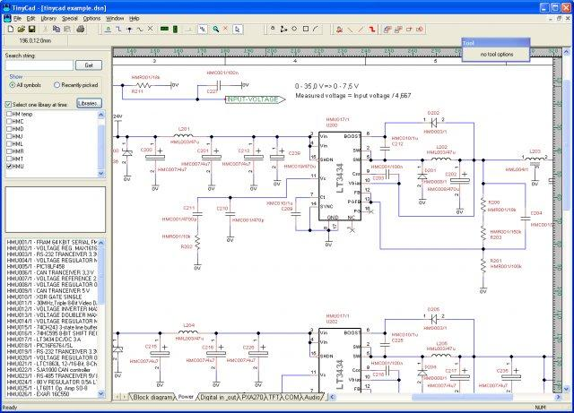 Schematic software for Online cad drawing software
